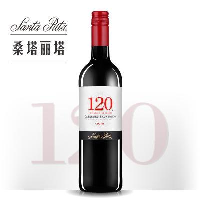 桑塔麗塔120加本力蘇維翁紅葡萄酒 375ML(小瓶裝)