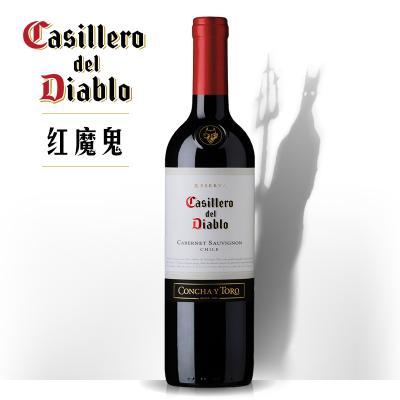 红魔鬼卡本妮苏维翁红葡萄酒