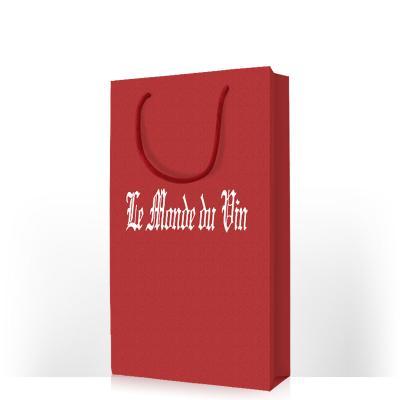 红色双支拎袋
