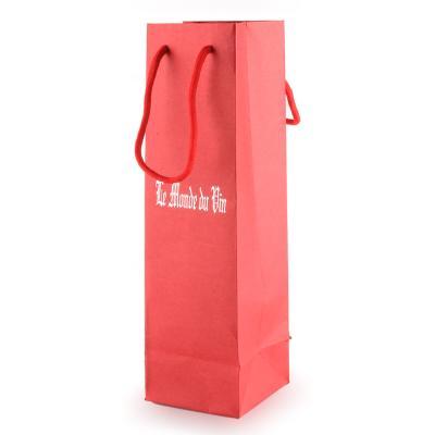 红色单支拎袋