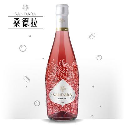 桑德拉桃紅起泡葡萄酒375 ml