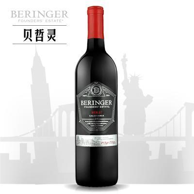 贝灵哲创始者美乐干红葡萄酒