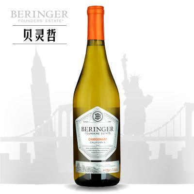 貝靈哲創始者霞多麗干白葡萄酒