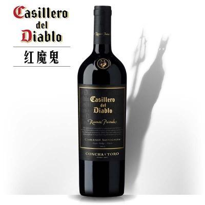 红魔鬼珍酿卡本妮苏维翁红葡萄酒