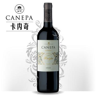 卡内奇家族珍藏西拉干红葡萄酒