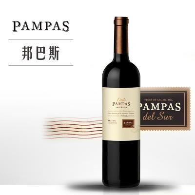 邦巴斯风情马尔贝克干红葡萄酒